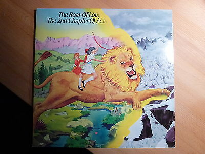 """12"""" LP Foc Xian - The 2ed Chapter of Acts - The Roar of Love Sparrow (14 Songs)"""