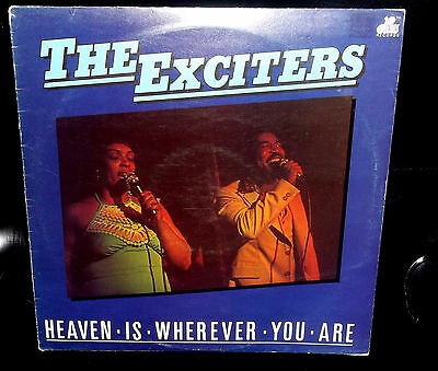 EXCITERS Heaven Is Wherever You Are LP 9 Northern Soul Tracks Excellent