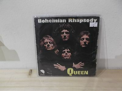 """QUEEN Bohemian rhapsody/I'm in love with my car 7"""" VG/G ITALY"""