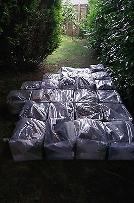 Storage Container Full Of Shoes Boots Sheepskin & Leather Coats & Jackets & Bags