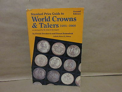 Standard Price Guide To World Crowns & Talers 1484-1968 2nd Ed. Draskovic