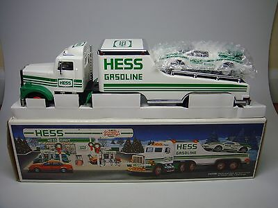 1991 Hess Truck-Toy Truck And Racer-Mint In Box---Look------>>>