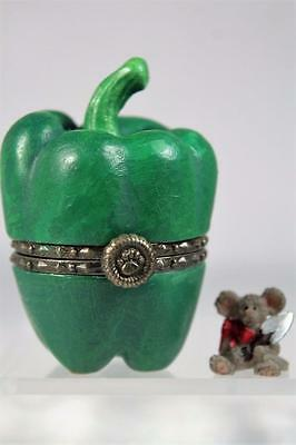 Boyds Treasure Box 'Bell's Pepper With Hottie McNibble' Bell Pepper #4041597 NIB