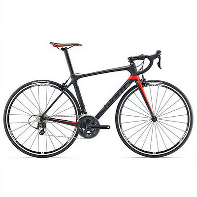 00 Giant Bici TCR Advanced 2, Carbon/Red