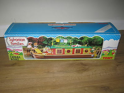 Sylvanian Families Vintage TOMY BOXED 1990s Canal Boat