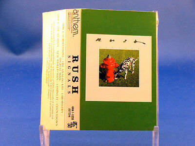 RUSH - Signals - 1982 ANTHEM LABEL VG++ CONDITION CASSETTE - Canada