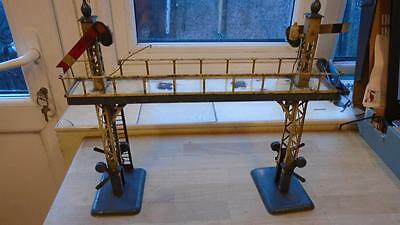 Hornby '0' Gauge Pre-War Signal Gantry For Repair.