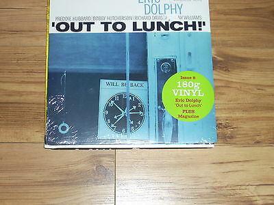 Eric Dolphy – 'Out to Lunch!' –1964 -JAZZ 33 -Issue 8-180g vinyl  & magazine