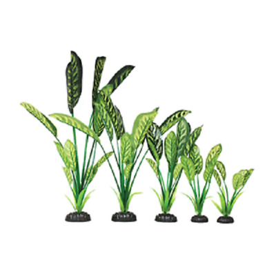 Saggitaria Green Silk Aquarium Fish Tank Plant Realistic Decoration Arteficial