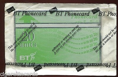 Trade Card/Phonecard, BT, 'NEW' 20 Units, Unused Still Sealed in packet