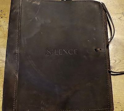 Silence Martin Scorsese Signed Screenplay Script  Fyc For Your Consideration