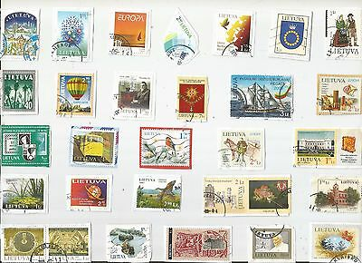 A Lovely Mix Of Mostly Recent Commemorative Stamps From Lithuania