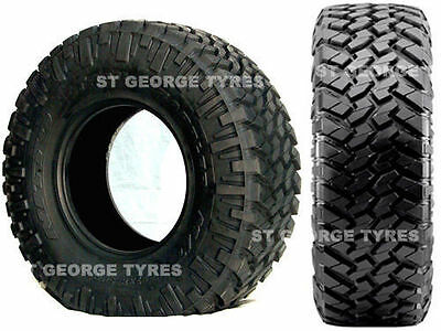 New 4 X 265-70-17 2657017 265/70R17 Nitto Trail Grappler Mud Terrain New Tyres