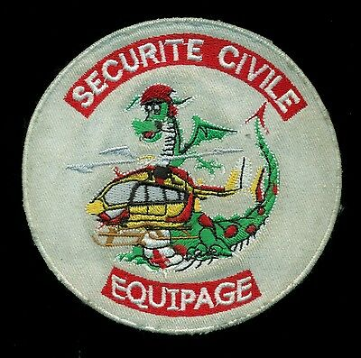 Securite Civile Equipage France French Defense Patch S-2