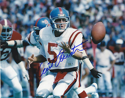 Kent Austin Signed  Ole Miss Rebels 8X10 Photo Hamilton Tigercats Exact Proof