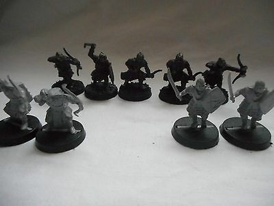9 Lord Of The Rings Miniatures Games Workshop Auction # 38