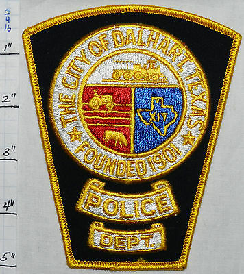 Texas, Dalhart Police Dept Patch