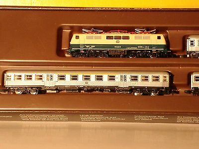 Marklin  Z:  8101 Train Set with Eloco cl. 111  and Passenger cars