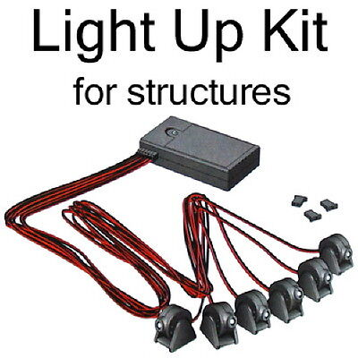 Tomytec LED Lighting Kit C2 for Lighting Up Structures White Light 1/150 N scale