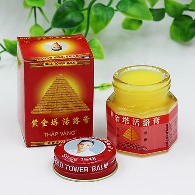 New Gold Tower Balm Ointment Pain Relieving Patch Massage Neck Arthritis VW