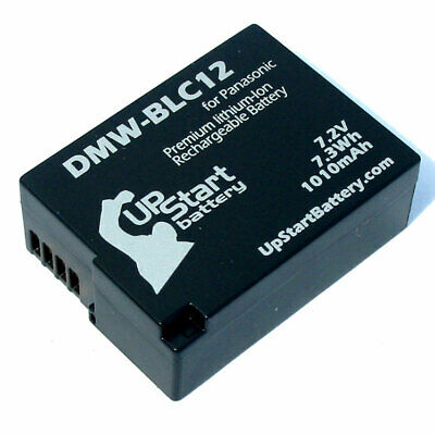 Battery for Panasonic DMC FZ200, Lumix DMC G5, DMC GH2, DMC G6K, DMW BLC12E