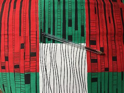 Vintage 1950s  French Curtain Fabric Unused