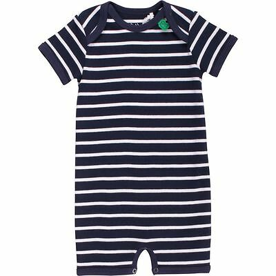 Green Cotton Baby Beachbody Spieler Schlafanzug Overall Gr. 56 62 68 74 80 86 92