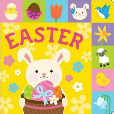 Lift-The-Tab: Easter by Roger Priddy (English) Board Books Book Free Shipping!