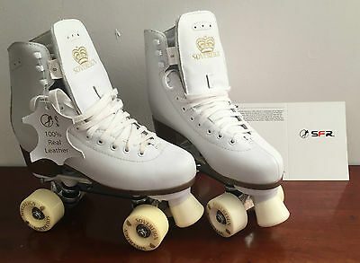Sfr Sovereign Gold Quad Skates Sfr065W Size 8 New In Box Roller Boots