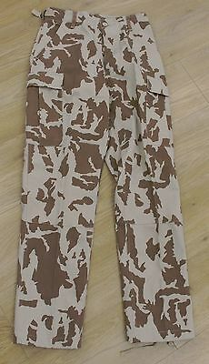 Desert Camouflage Combat Trousers - Army Military Soldier Pants Camo Khaki A96