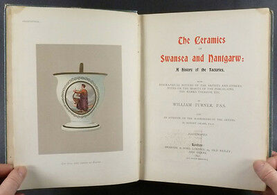 Antique Nantgarw Welsh Porcelain - 1897 Book of Billingsley Wales Ceramics