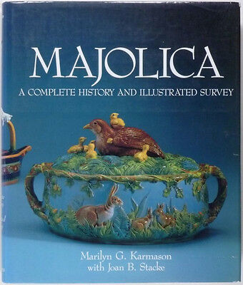 Antique Majolica Pottery & Tableware -American and English Victorian Ceramics