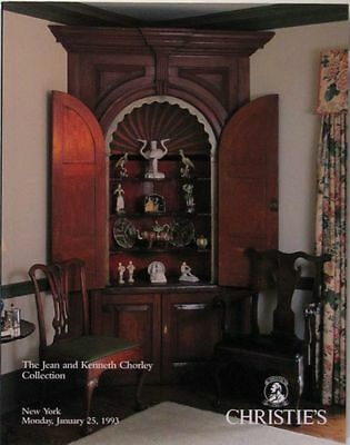 Antique English Pottery & American Furniture - Chorley Collection Catalog