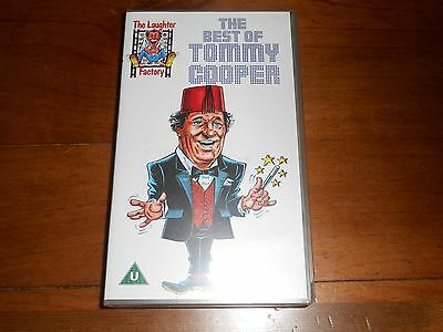 The Best of Tommy Cooper VHS/PAL Video