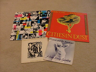 Siouxsie And The Banshees - 4 X Vinyl Bundle - Special Price!!!!