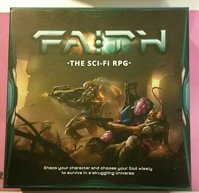 Faith The Sci-Fi Rpg Core Box Set Complete New Unpunched Roleplay Burning Games