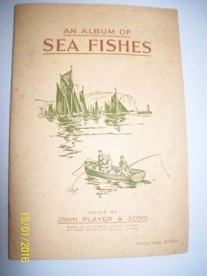Album Of Sea Fishes Players Cigarette Cards