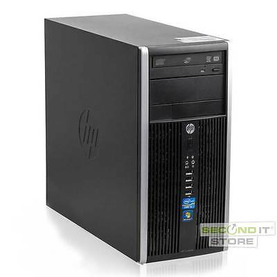 HP Compaq 6200 Pro PC Intel Quad Core i5 4x 3,3 GHz 8 GB RAM 500 GB HDD Win10