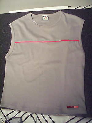 SIMPLY RED official grey t-shirt vest size MEDIUM