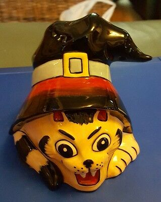 lorna bailey witches cat ltd edn 1/3 excellent condition FREE P&P #
