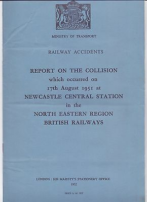 6 Page,Original Accident Report,Collision at Newcastle Central Station 1952 (P5)