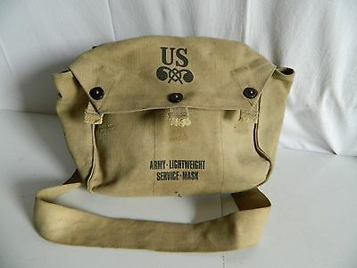 Musette Sac  Us Army Lightweight Service Mask Ww2