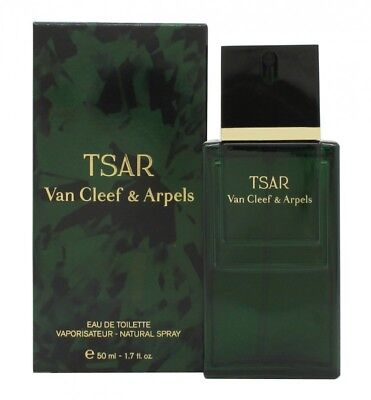 Van Cleef & Arpels Tsar Eau De Toilette 50Ml Spray - Men's For Him. New