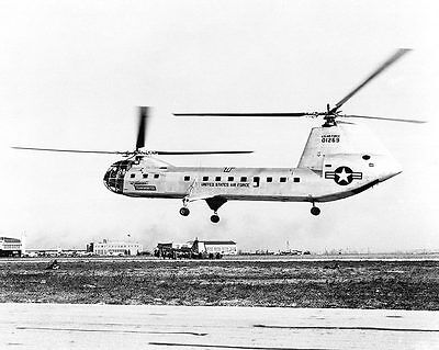 Piasecki H-16 Transporter Helicopter 11x14 Silver Halide Photo Print