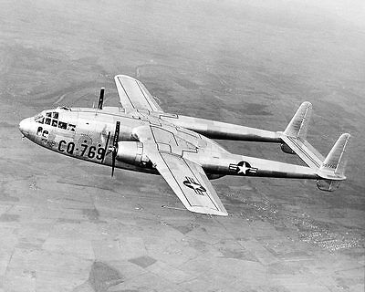 Fairchild C-119A / C-119 Flying Boxcar 11x14 Silver Halide Photo Print