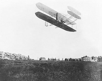 Wright Brothers Type A Flyer in Flight 1908 11x14 Silver Halide Photo Print
