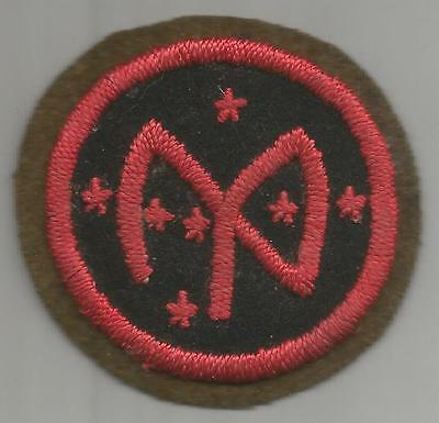 Book Of Dreams WW 1 US Army 27th Division Patch Inv# K957