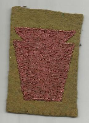 Book Of Dreams WW 1 US Army 28th Division Patch Inv# K956