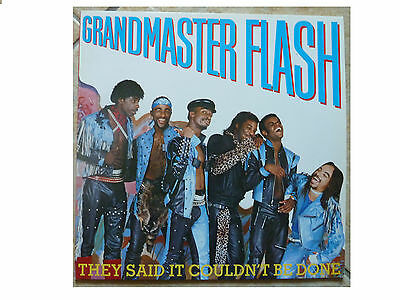 Grandmaster Flash * They Said It Couldn't Be Done * Vinyl Lp Plays Great