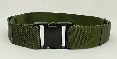Quick Release Belt - Webbing Pistol Olive Green Military Army Surplus A121